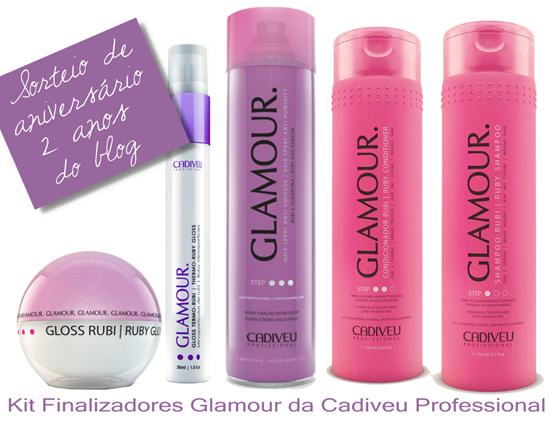 Sorteio Cadiveu Glamour
