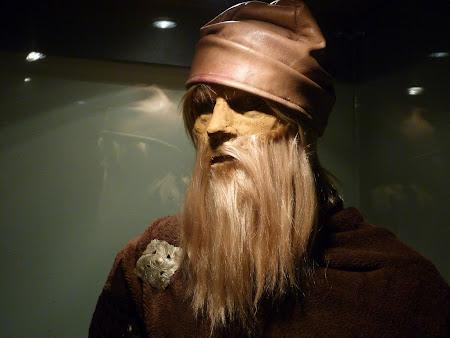 Muzeul de istorie Piatra Neamt : luptator dac