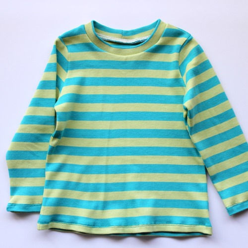 stripes long sleeve top front