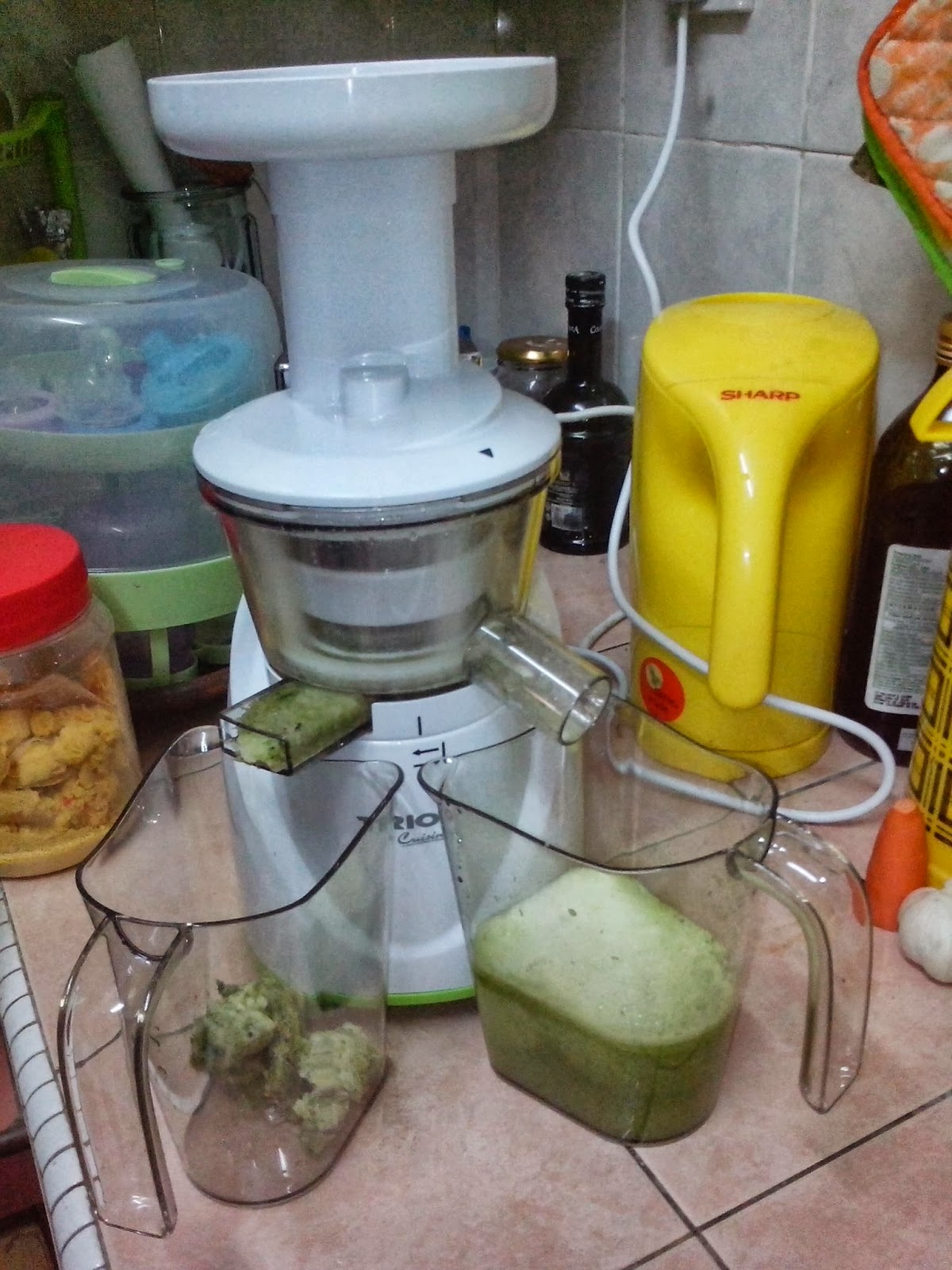 Slow Juicer Made In China : It s My World...Citiee s World: Testing our new TRIO Slow Juicer