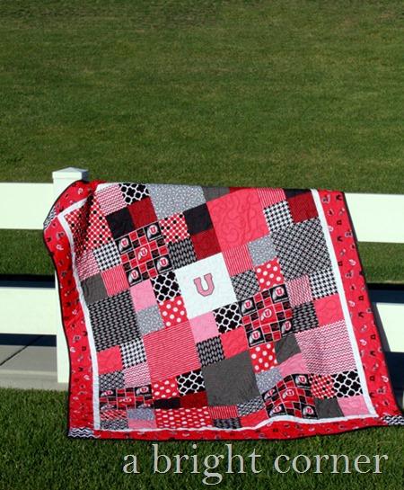 University of Utah quilt