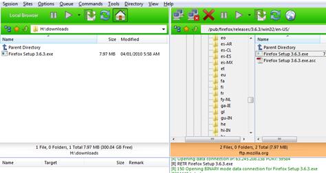 FlashFXP FTP & FXP Client
