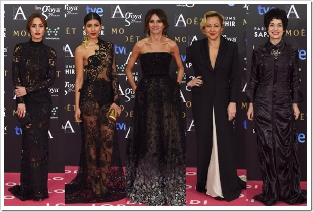 Premios Goya 2015 alfombra roja (4)