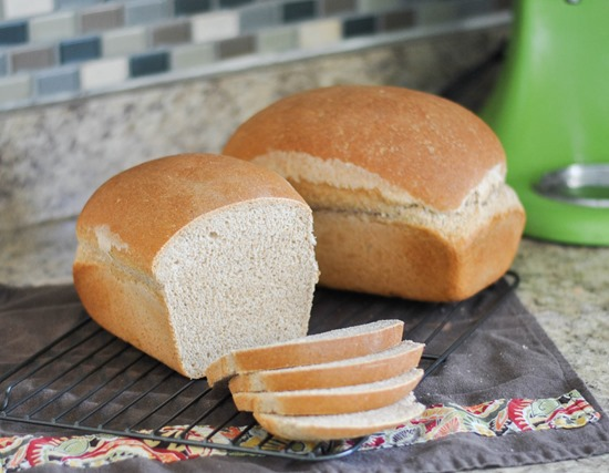 My family's favorite homemade wheat bread recipe