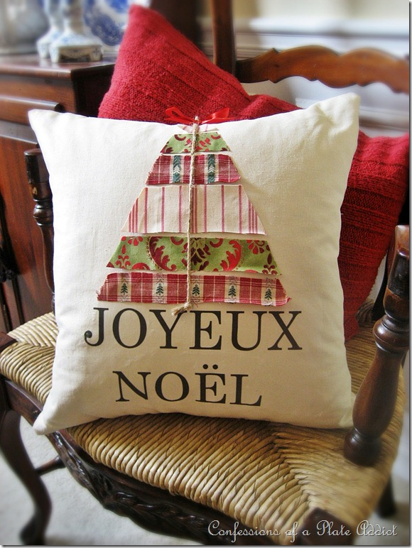 ballard designs christmas pillow