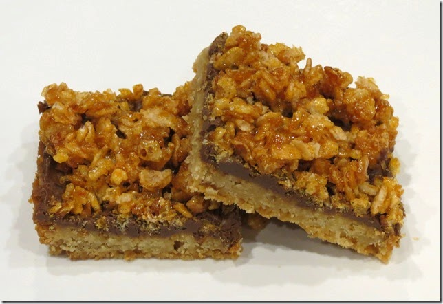 Crispy Topped Brown Sugar Bars