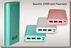 Groupon : Buy Maxxlite 24000mAh Power Bank at Rs. 1799 only