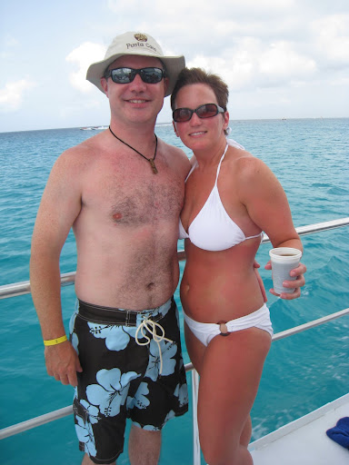 Chris and Shelley heading to Saona Island