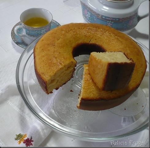 Bolo frugal - Delicias Frugais