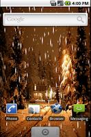 Screenshot of Kar Yağışı Canlı Duvar Kağıdı