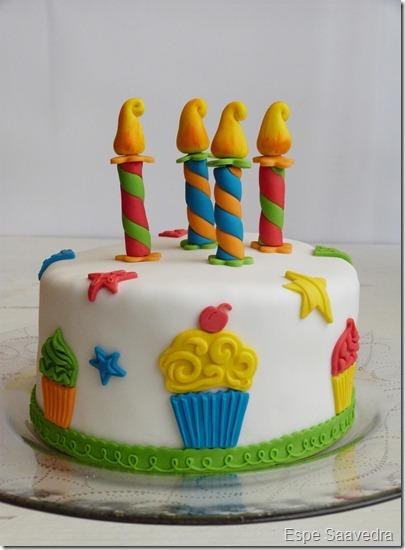 tarta fondant cumpleaños espe saavedra (2)