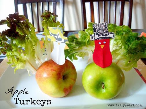 Apple Turkeys - Multiples in the Kitchen