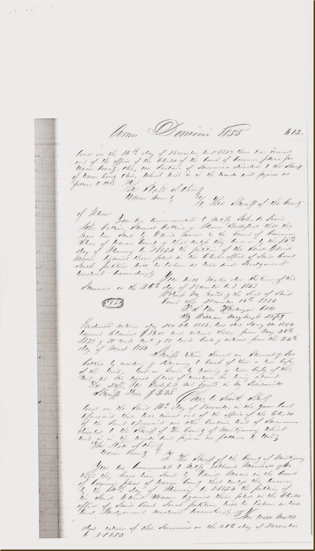 John A. Irwin, Samuel Collins sued by David Mason on 15 Dec 1853_0005
