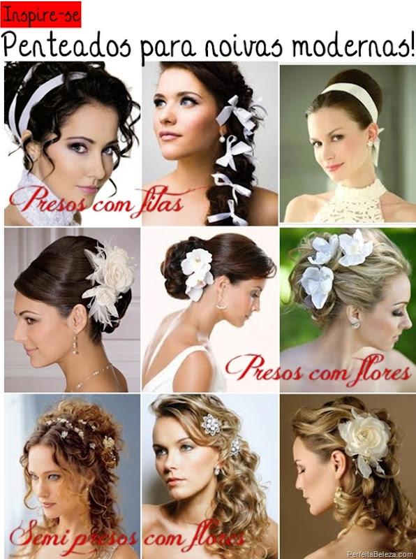 penteados para noivas modernas