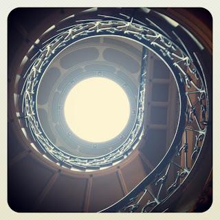 Can Prunera. Escalera. Casa Modernista. Modernismo en Sóller. Sóller para niños. No sólo comen y duermen