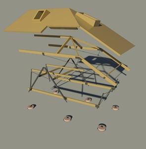 maqueta-3d-casa-de-madera