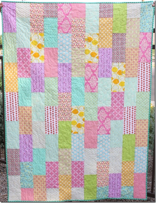 Running Bricks Quilt