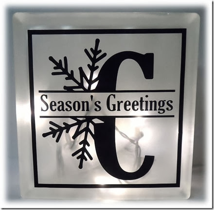 Seasons Greetings Christmas Light Box no bow_snowflake_apieceofheartblog
