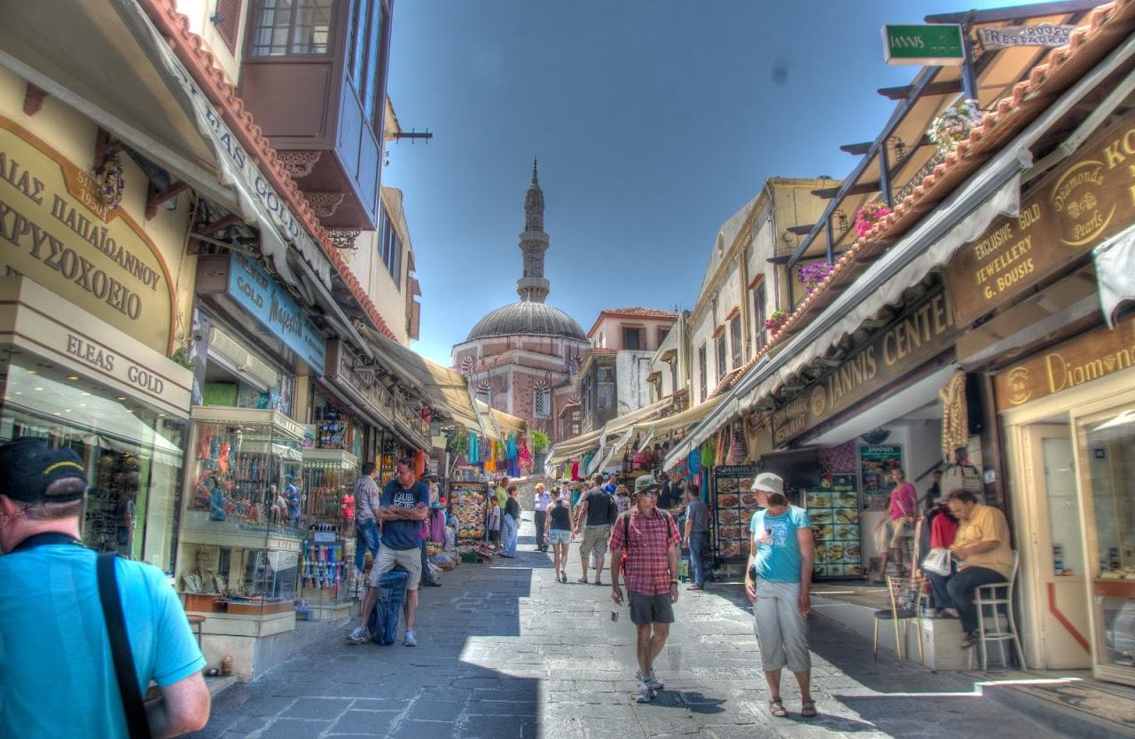 Street in Rodos