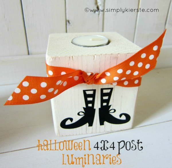 DIY Halloween Luminaries by Simply Kierste