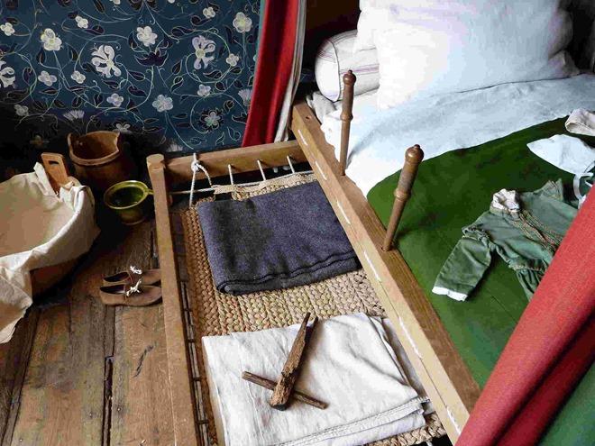 Кровать в доме-музее Шекспира