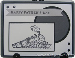 Father's Day - Try Stampin on Tuesday and Dynamic Duo's Challenge