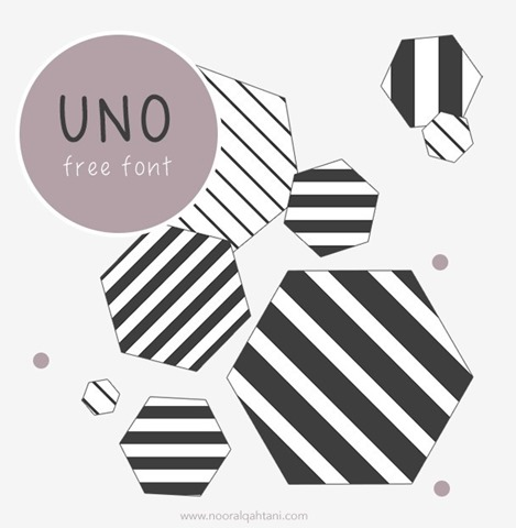 UNO-free-handwriting-font