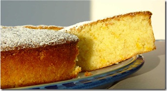 Amalfi Lemon and Almond Cake