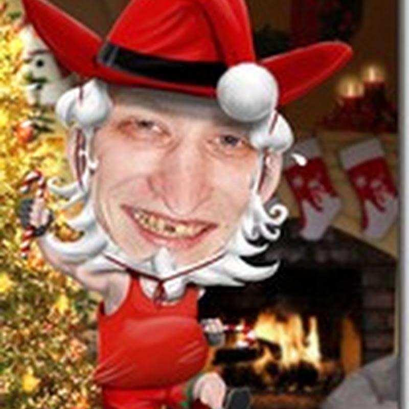 Generador crea un papá Noel con tu cara