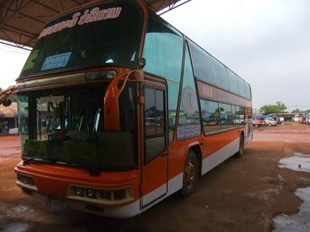 bus Vientiane-Kong Lor