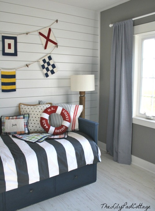 nautical boy bedroom