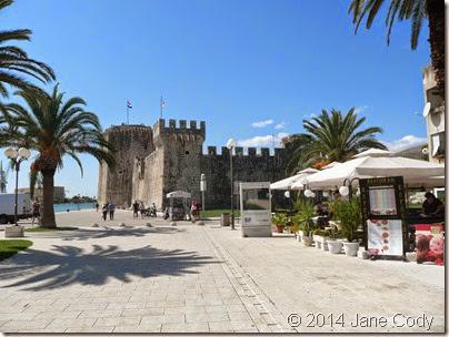 Trogir's Kamerlengo Castle