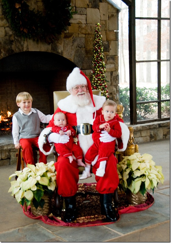 boys with santa 2