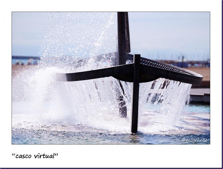 barca de agua - detalle - malvarrosa - valencia