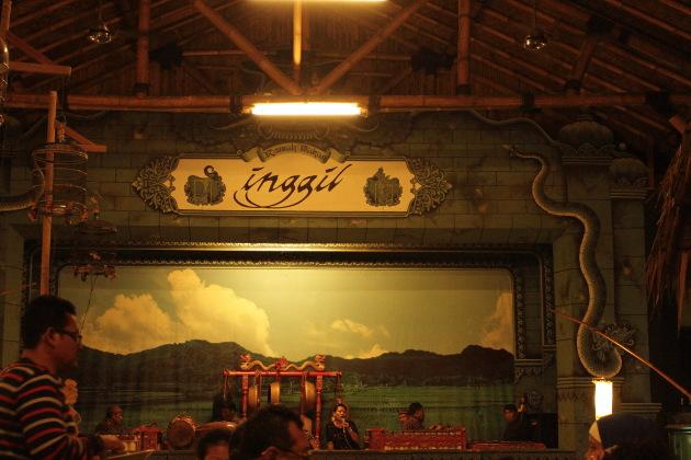 Inggil Restaurant, East Javanese Cuisine in Malang, Indonesia