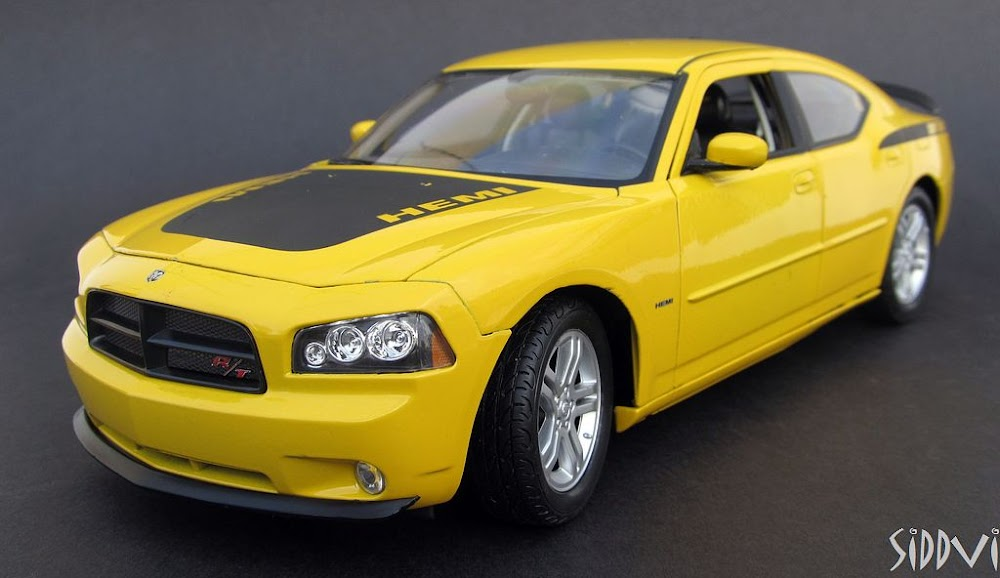 auto diecast scale models 2006 dodge charger hemi daytona rt auto diecast models. Black Bedroom Furniture Sets. Home Design Ideas