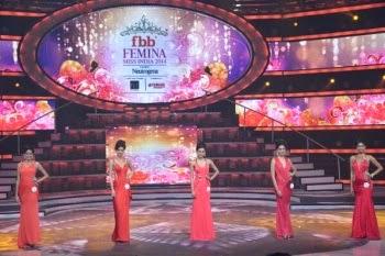 Top 5 contestant of Femina Miss India 2014