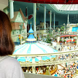 viewing the Lotte World in action in Seoul, Seoul Special City, South Korea