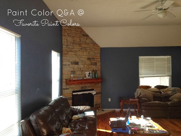 Favorite paint colors paint color q a living room - Living room paint colors for 2014 ...
