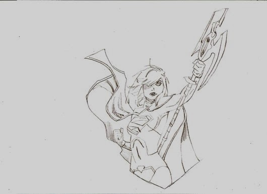 supergirl 2 pencils