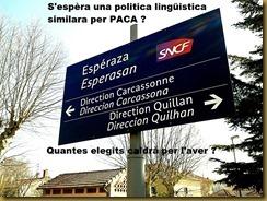 Politica lingüistica Provènça Gavotina Niça