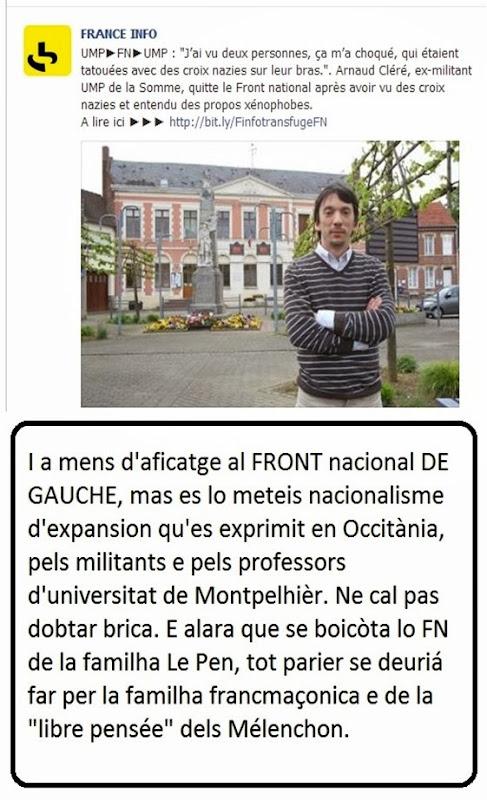 extremisme francés en Occitània