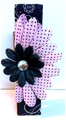 peg black pink