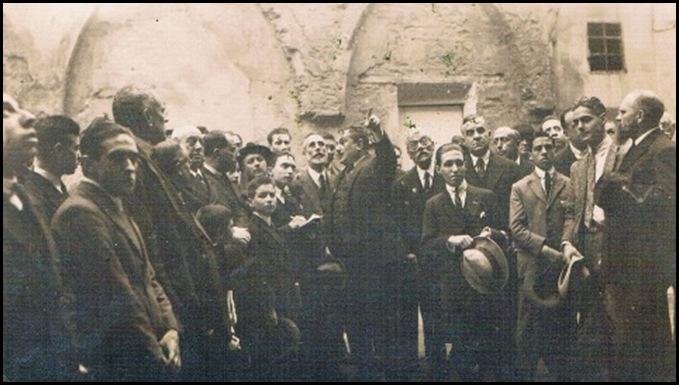 Iglesia de San Juan del Hospital. Visita. Nov. 1924