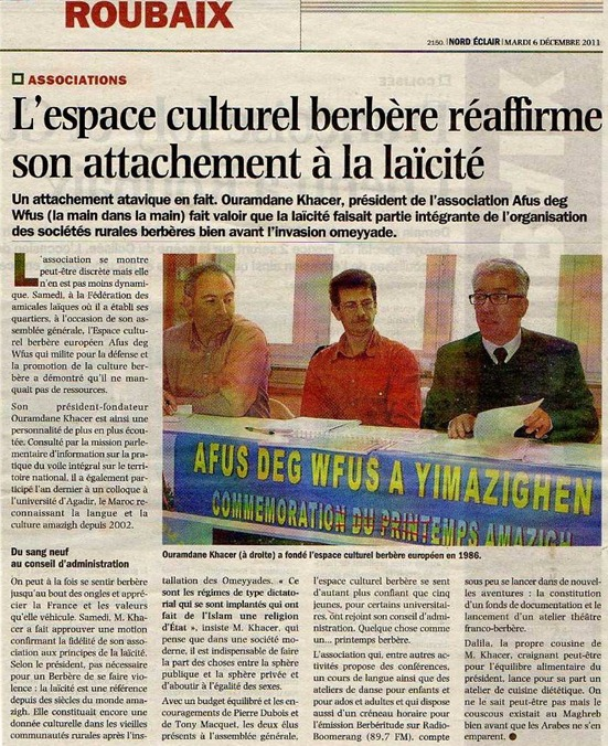 Laïcitat Berbères