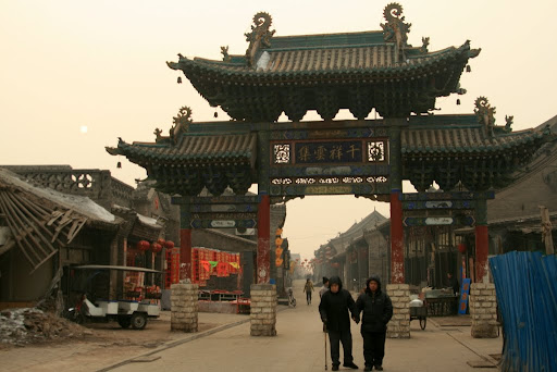 Turning every corner in Pingyao presents a new architectural beauty, we might come back when its summer!