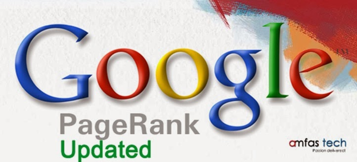 Google Page Rank Updated on 6 December 2013