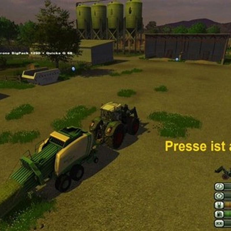 Farming simulator 2013 - Quaderballenpresse technology pack v 2.0