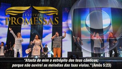 Festival Promessas rede globo - priscila e maxwell palheta