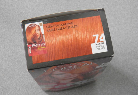 LOREAL MANGO INTENSE COPPER FERIA 1